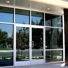 metal glass doors glass and aluminum doors personnel doors doors