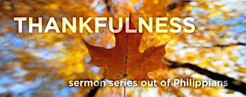 thankfulness sermon series ii thanksgiving message new destiny