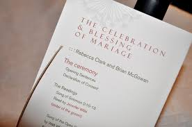 wedding church programs evi s return from wedding invitations to make your