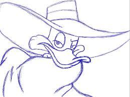 darkwing duck sketch by artisticanri on deviantart