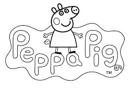 31 peppa pig coloring pages images pig party