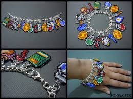 jewelry bracelet charms images Legend of zelda seed bead charm bracelet 2 by pixelosis jpg