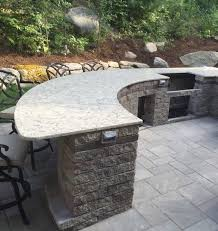 the best countertops for outdoor kitchens the edge countertops