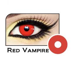 freshtone halloween vampire red contact lenses halloween red