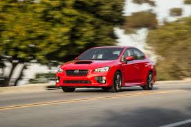 subaru sports car wrx 2015 subaru wrx cvt first test motor trend