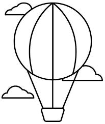 transportation zeppelin plane colouring sheets free kids