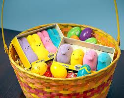 peeps easter basket plush peeps gift set