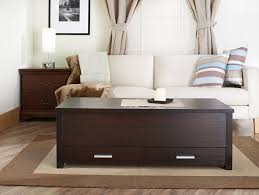 decoration ideas attractive coffee table with rectangular dark