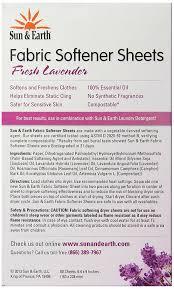 Best Sheet Fabric Amazon Com Sun U0026 Earth Natural Hypoallergenic Fabric Softener