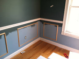 the room stylist diy project wainscoting u0026 chair rail