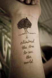 tree quote tattoos quote tattoos for quote