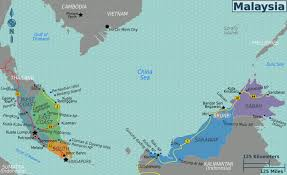 Map Of Gulf Coast Maps Of Malaysia Detailed Map Of Malaysia In English Tourist