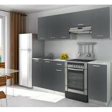 buffet cuisine gris cuisine grise pas cher cuisine complate 2m20 lamina grise mat
