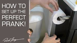bathroom prank ideas how to do the prank