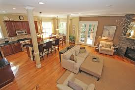 open kitchen great room floor plans how to create a foyer in an open living room best open plan layout