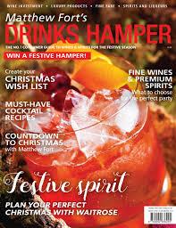 matthew fort u0027s drinks hamper 2016 by magazine issuu