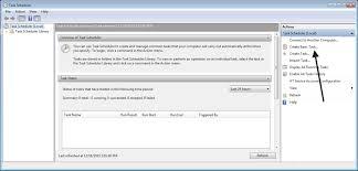 how to schedule a task in windows scheduling a datasync update job using windows task scheduler