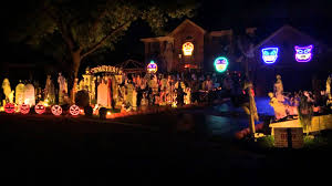 awesome halloween pictures halloween light show 2014 michael jackson thriller thomas