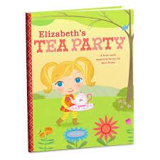 tea party personalized book personalized books hallmark