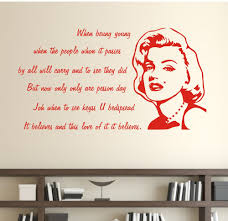 red wall decal quotes color the walls of your house red wall decal quotes red lips quotes marilyn monroe loves quotes