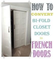 Bifold Kitchen Cabinet Doors Convert Bifold Doors To French Doors Easily Bi Fold Doors