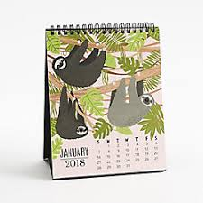 Small Easel Desk Calendar 2018 Wall U0026 Desk Calendars Paper Source