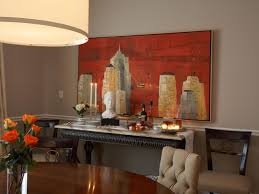 Art For Dining Room How To Display The Artwork In The Dining Room To Make It Look