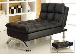 Klik Klak Sofa by Sussex Lounge Chair In Faux Leather Black Klik Klak Brand New