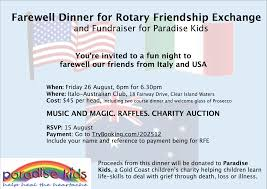 farewell party invitation for teachers stories rotary club of stanthorpe