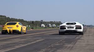 berlinetta vs lamborghini aventador lamborghini aventador lp700 4 vs f12berlinetta drag race