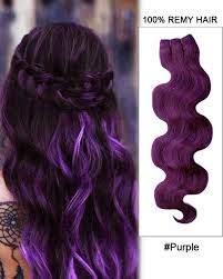 purple hair extensions 20 99j plum wave weave remy human hair extension