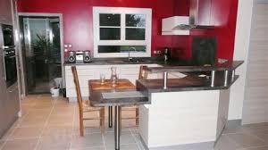ensemble meuble cuisine meuble cuisine avec table integree 7 une cuisine modernis233e