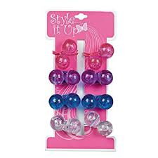 style it up large assorted hair bobbles ponytail
