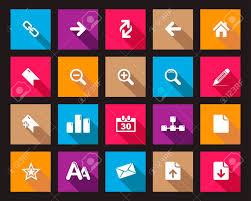 icones de bureau image vectorielle place ombragée icônes web et de bureau en haute