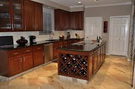 Cooktop Cabinet Mesmerizing Kitchen Wine Cabinet Ideas With Kitchen Island