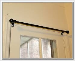 Curtain Rods Hanging Door Curtain Rods Rooms Decor And Ideas