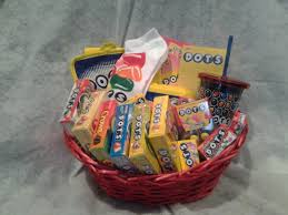 candy gift baskets dots candy gift basket on storenvy