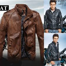leather motorcycle jacket brands 2014 autumn male leather jacket men fashion motorcycle jackets