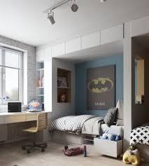 spot chambre enfant chambre 2 enfants avec lits niches avec tiroirs de rangements spots