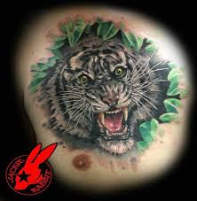 41 best ears back roaring tiger head tattoo images on pinterest