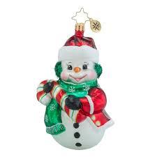 christopher radko ornaments radko junior frost snowman ornament