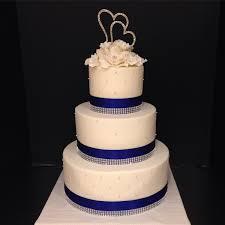 wedding cake royal blue classic formal glam modern ballroom city fall