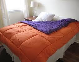 Orange Comforter Orange Purple Reversible College Comforter Twin Xl College Dorm