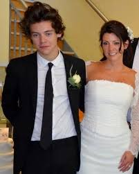 cox wedding dress harry styles is all smiles as best at his cox s