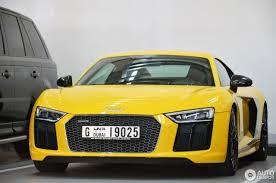 Audi R8 Yellow - audi r8 v10 plus 2015 4 may 2017 autogespot
