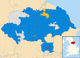 Yorkshire Map North Yorkshire County Council Election 2017 Wikipedia