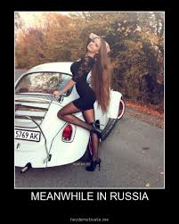 Russia Meme - meanwhile in russia girl meme