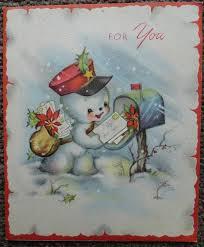 266 best vintage christmas cards images on pinterest vintage
