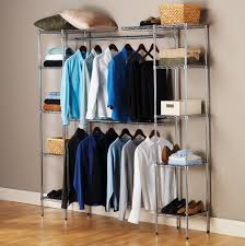 double hanging closet organizer home design ideas
