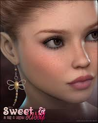 sweet and sassy earrings sv s sweet sassy earrings accessories for poser and daz studio